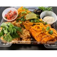 Al Pastor & Green Chili Burrito