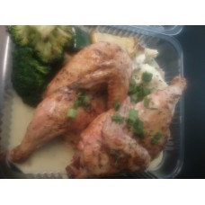 Lemon Pepper Cornish Game Hen